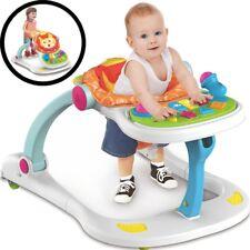 Lauflernhilfe 4 in 1 Gehhilfe Lauflernwagen Baby Walker Gehfrei Kinder Laufhilfe