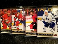 2018-19 Upper Deck Series 2 Young Guns Canvas Acetate Rookie Hockey You Pick 201