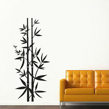 Wall Decal Vinyl Sticker Chinese Japanese bamboo tree Yoga Kharma Buddha R1451