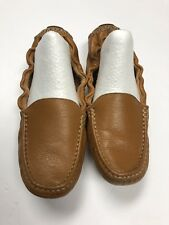 2d20530317c Mercanti Fiorentini 7 British Tan Leather Driver Loafers Moccasins Slip on