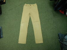 """Tom Joules Straight Jeans Waist 26"""" Leg 29"""" Faded Brown Girls 11/12 Yrs Jeans"""
