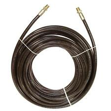 """SUTTNER SEWER PIPE CLEANING HOSE 1/8"""" x 100' 2900 PSI 140°F 1/4""""MPT ENDS"""