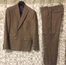 Men's Stanford Signature 40S 100% Wool Suit Pants 32x28 Slim Fit
