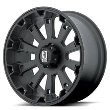 20 Inch Black Wheels Rims Chevy 2500 3500 Dodge RAM Ford Truck 8 Lug Hummer H2