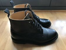 Solovair Size 8  Black Horween 6 Eye Derby Boot