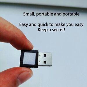 Mini USB Interface Fingerprint Scanner Reader For Windows Home Security Key US
