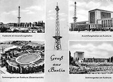 Bg187 stade stadium berlin multi views Cpsm 14x9.5cm germany