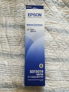 Original Epson 8750 / S015019 Ink ribbon for LX300+