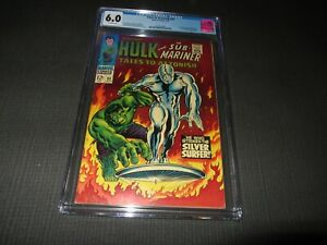 Tales to Astonish 93 CGC 60 CGC 6.0, Classic Silver Surfer Cover (Marvel 1967)