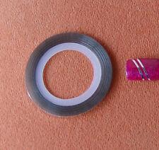 Zierstreifen Silber  Nailart Naildesign  Stripping Tape