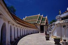 538085 phra pathomchedi Tempio Thailandia A4 FOTO STAMPA