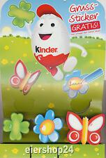 Alle 3 Grußsticker Ostern 2014 von Ferrero