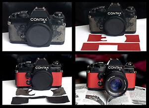Replacement Leather Contax 139 Quartz - Pre cut self adhesive - various colours