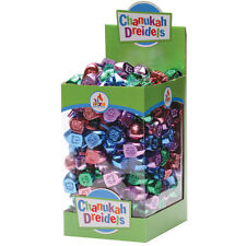Chanuka DREIDEL..... Metallic Coloured Draidel, kids adults present gift judaica
