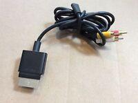 Genuine Official OEM Microsoft XBOX 360 S Slim Composite AV Audio Video Cable