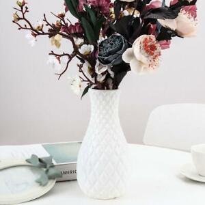Plastic Flower Vase Creative Nordic Decoration Home Imitation Ceramic Vase Y1N