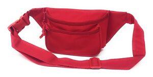 """Fanny Pack Waist Purse Travel Pouch Money Passport ID Belt Bag Pockets 48"""""""