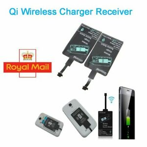 Qi Wireless Charging Charger Receiver Adapter Card Module for Samsung Android UK