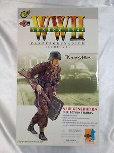 2002 DRAGON FIGURE WWII ARNHEM 1944 PANZER GRENADIER KARSTEN  #70136 MIB! NR!