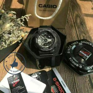 Casio G-Shock GA110GB-1B Men's Watch Black Dial Resin Strap Chronograph With Box