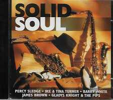 Solid Soul - Percy Sledge,Ike & Tina Turner,Barry White,James Brown...CD 2000