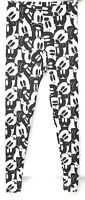 Disney Collection Mickey Mouse Leggings Womens Size XS Black And White