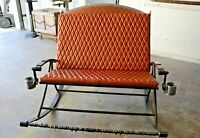 Custom Hot Rod Rocking Chair Bench Upcycled