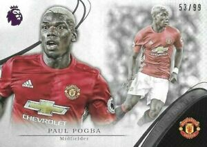 2016 TOPPS Premier Gold EPL Paul Pogba Manchester United New Signings Sliver /99