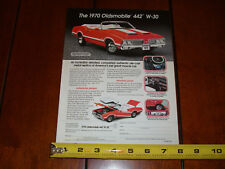 1970 OLDSMOBILE 442 W30 DANBURY MINT - ORIGINAL 2000 AD
