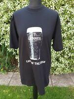 Vintage Guinness Promo T Shirt Mens Luck.of the Irish Genuine Guinness Logo