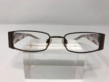 Takumi Eyeglasses Patented Technology 47-17-135 Brown Metal Frame Full Rim A874