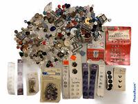 Button Lot Vintage Antique Miscellaneous Buttons Mixed Lot Mix