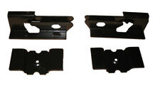 66-72 Chevelle Floor Pan Rear Seat Mounting Anchor Brackets Bracket 4pc Set