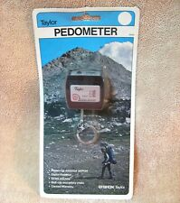 Vtg Pedometer Taylor SYBRON Digital Step Counter New In Package