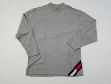 Tommy Hilfiger Longsleeve T Shirt Men's Large L Corner Flag Patch Vintage 90s