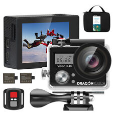 Dragon Touch Vision 3 Action Camera Touch Screen Sports Cam Camcorder