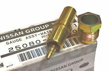 Datsun OEM Water Temperature Sender / Sensor w/Nut, 240Z 280Z 280ZX, '70-83 NEW!