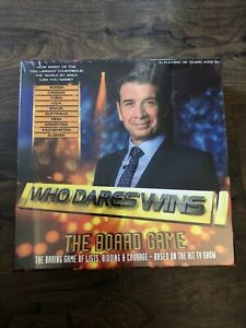 Who Dares Wins Board Game - Nick Knowles TV Show - BRAND NEW Sealed