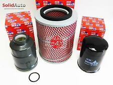 fits: ISUZU TROOPER & BIGHORN 3.1TD 1992-99 **OIL/AIR/FUEL FILTER SERVICE KIT**