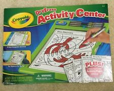 Crayola Dry Erase Activity Center Practice Letters Numbers Shape Travel Learning