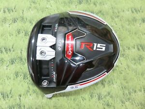 LH * Taylormade R15 460 * 9.5* Driver HEAD  ..  #GDS