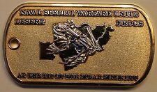Naval Special Warfare Unit Three Desert Frogs Navy Challenge Coin / SEALs / 3