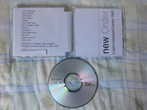 NEW ORDER - LIVE AT LOGAN CAMPBELL CENTRE, AUCKLAND, NEW ZEALAND, 23 MAY 1985