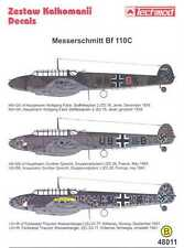 Techmod Decals 1/48 German MESSERSCHMITT Bf-110C