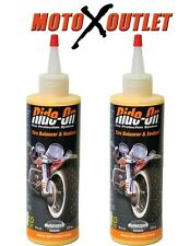 Ride On Motorcycle Tire Sealant and Balancer Slime 2 Pack Kawasaki Honda Yamaha