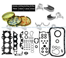 NEW 01-05 Honda Civic EX HX V-Tec1.7L D17A2 1.7 SOHC Gasket ENGINE RE-RING KIT
