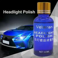 30ml Car Headlight Lens Restorer Repair Liquid Auto Polish Cleaner.