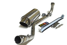 Low Mount Aodonly Racing Stainless chrome Exhaust For KAWASAKI Z125 ALL MODEL