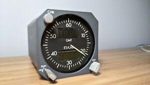 Boeing 737 Smiths Indust. Digital Chronometer/Clock P/N2600-08-1