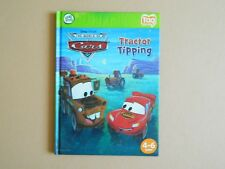 Disney Pixar Cars Tractor Tipping Leap Frog Tag Pen Book Reading Learning